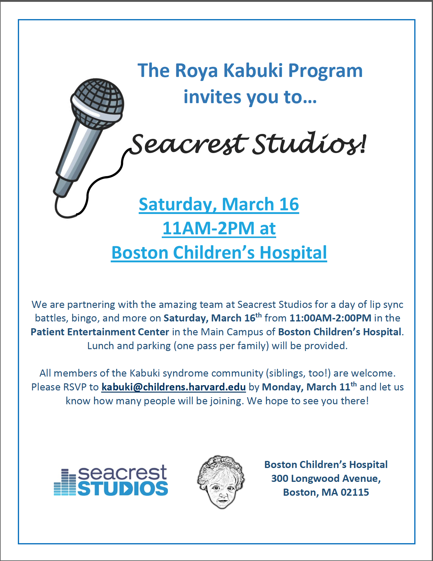 Join us at Seacrest Studios!